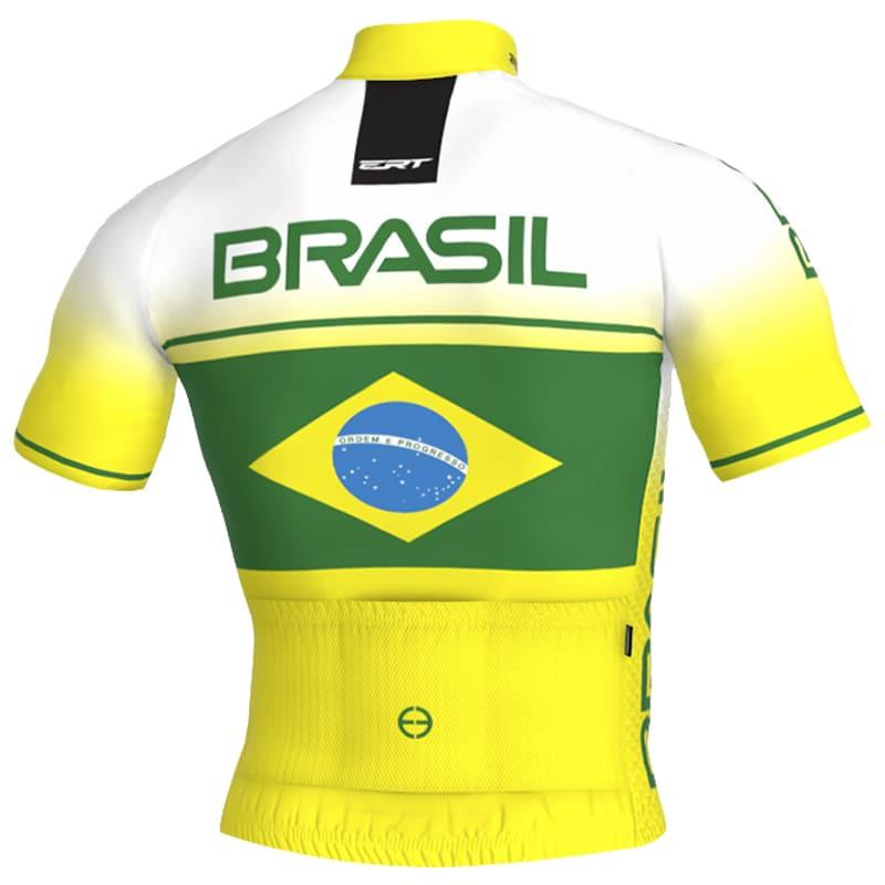 Camisa Ciclismo Ert Nova Elite Brasil Mtb Speed