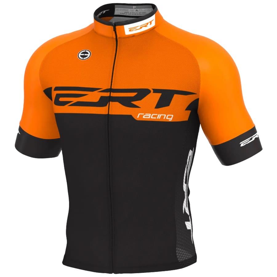 Camisa Ciclismo Ert Nova Elite Racing Laranja Mtb Speed