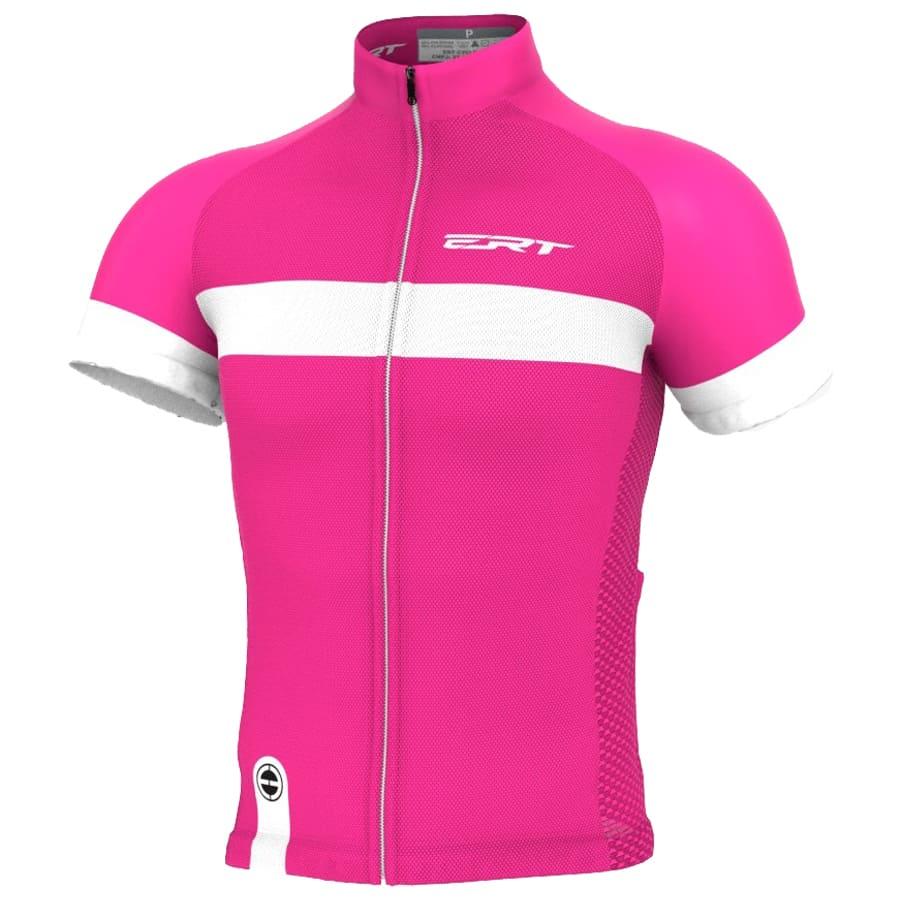 Camisa Ciclismo Ert Nova Tour Stripe Pink Mtb Speed