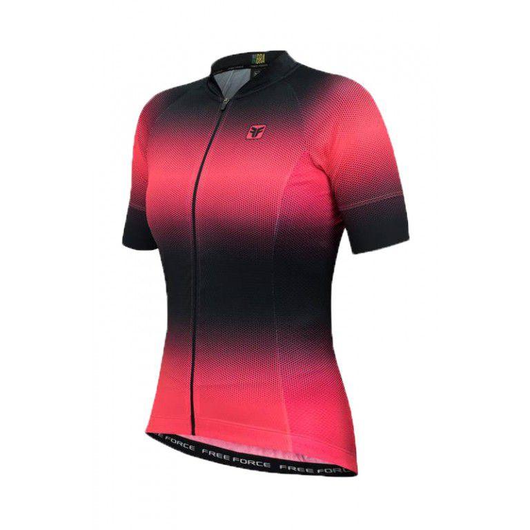 Camisa Ciclismo Free Force Feminina Sport Star Mtb Speed