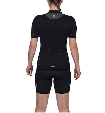 Camisa Ciclismo Woom Feminina Squadra Rosa e Tiffany Mtb Speed