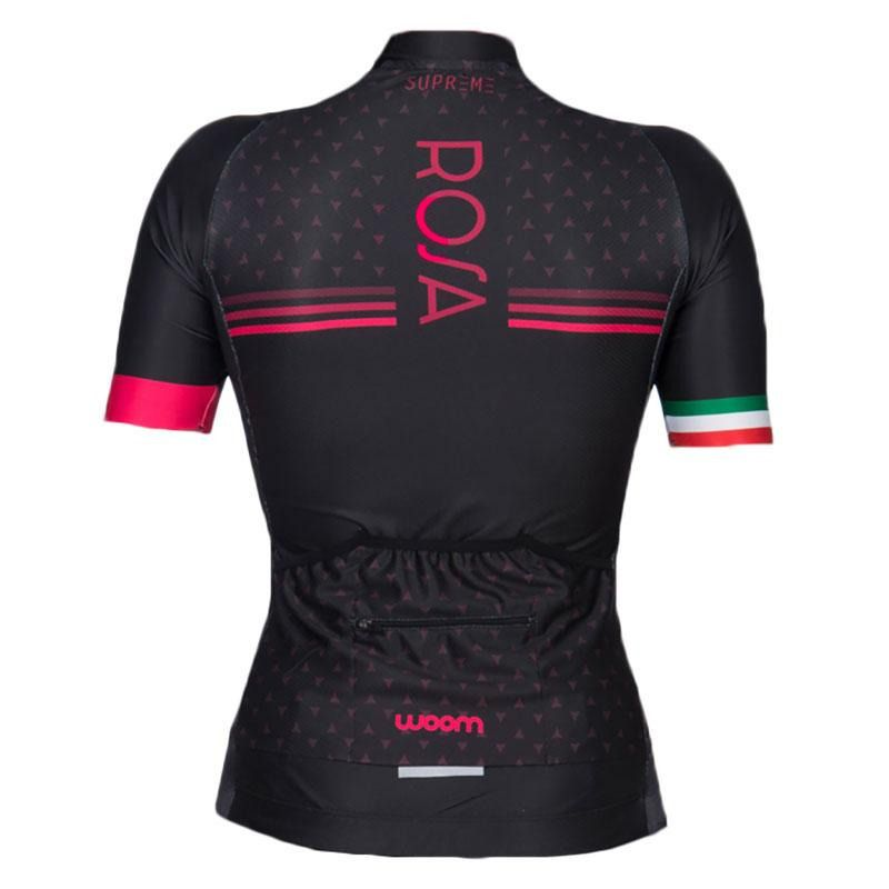 Camisa Ciclismo Woom Feminina Supreme Rosa Mtb Speed