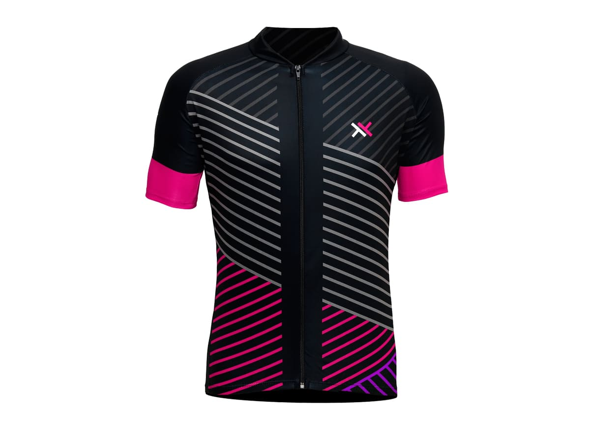 Camisa Ciclismo Mattos Racing Feminina Line Rosa Mtb Speed
