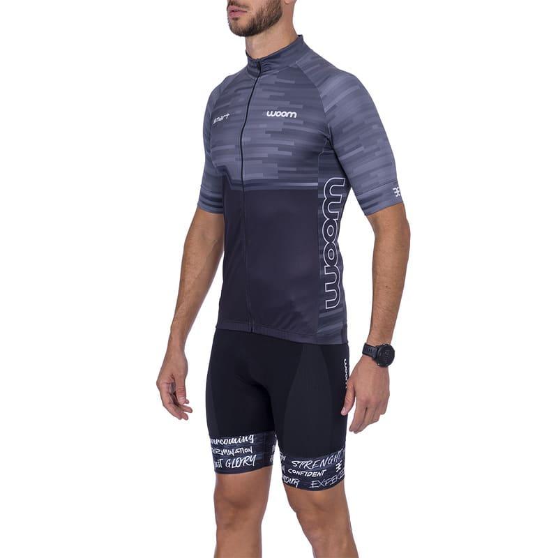 Camisa Ciclismo Woom Masculina Smart 2021 Asphalt Mtb Speed