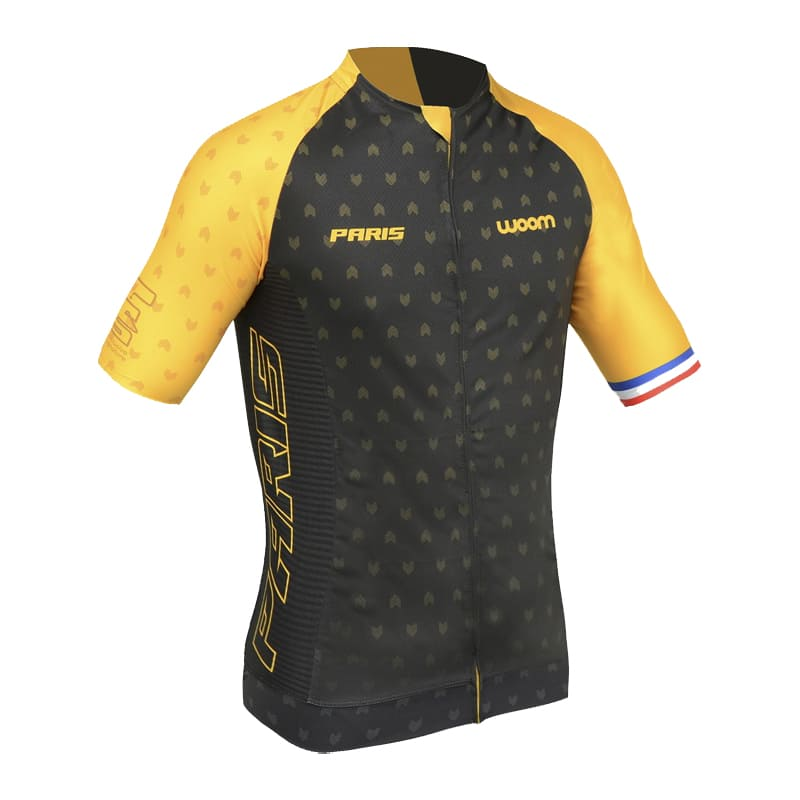 Camisa Ciclismo Woom Masculina Supreme Paris Mtb Speed