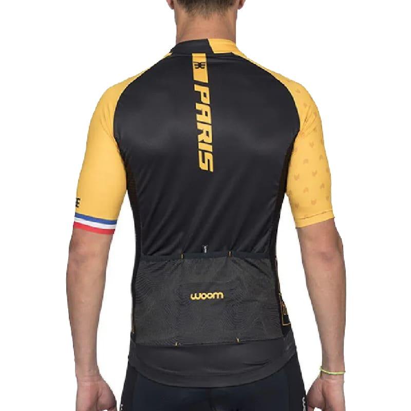 Camisa Ciclismo Woom Masculina Supreme Paris Mtb Speed