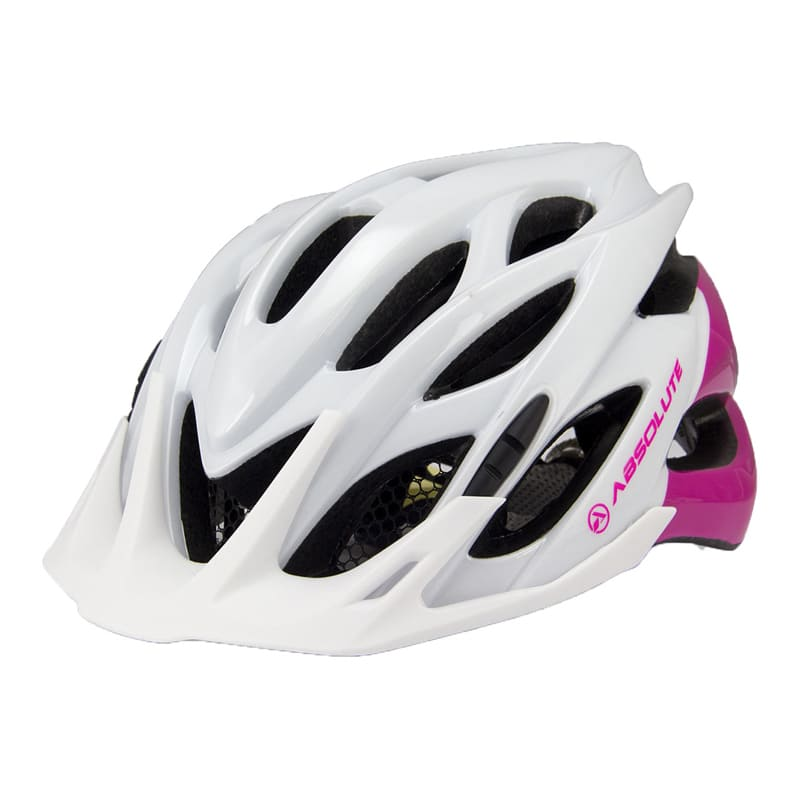Capacete Ciclismo Absolute Mia Feminino com Pisca Led Bicicleta Mtb Speed