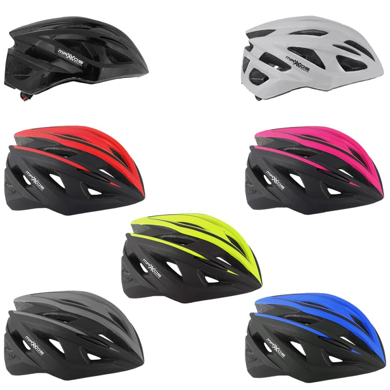 Capacete Ciclismo Mattos Racing Flash com Pisca Led Bicicleta Mtb Speed