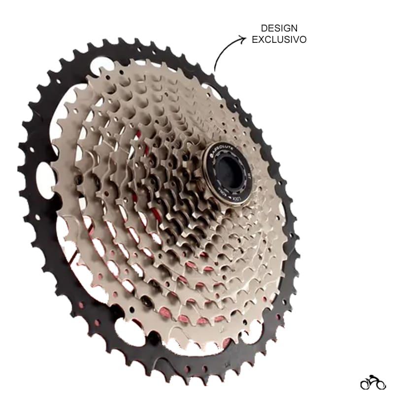Cassete Bike Absolute Níquel Ultra 12v 11/50