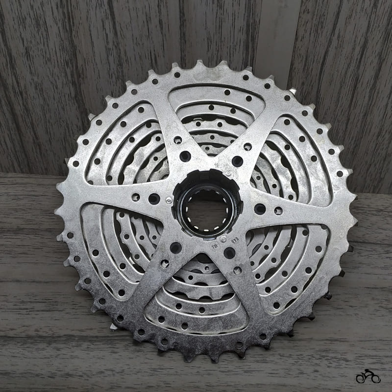 Cassete Bike Shimano HG400 9v 12/36