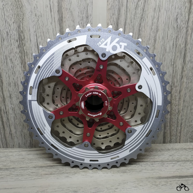 Cassete Bike Sunrace Mx3 10v 11/46 + Corrente Tec 10v