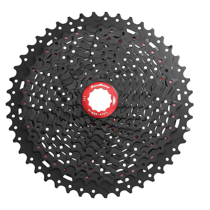Cassete Bike Sunrace Mx80 11v 11/46 + Corrente Shimano 11v
