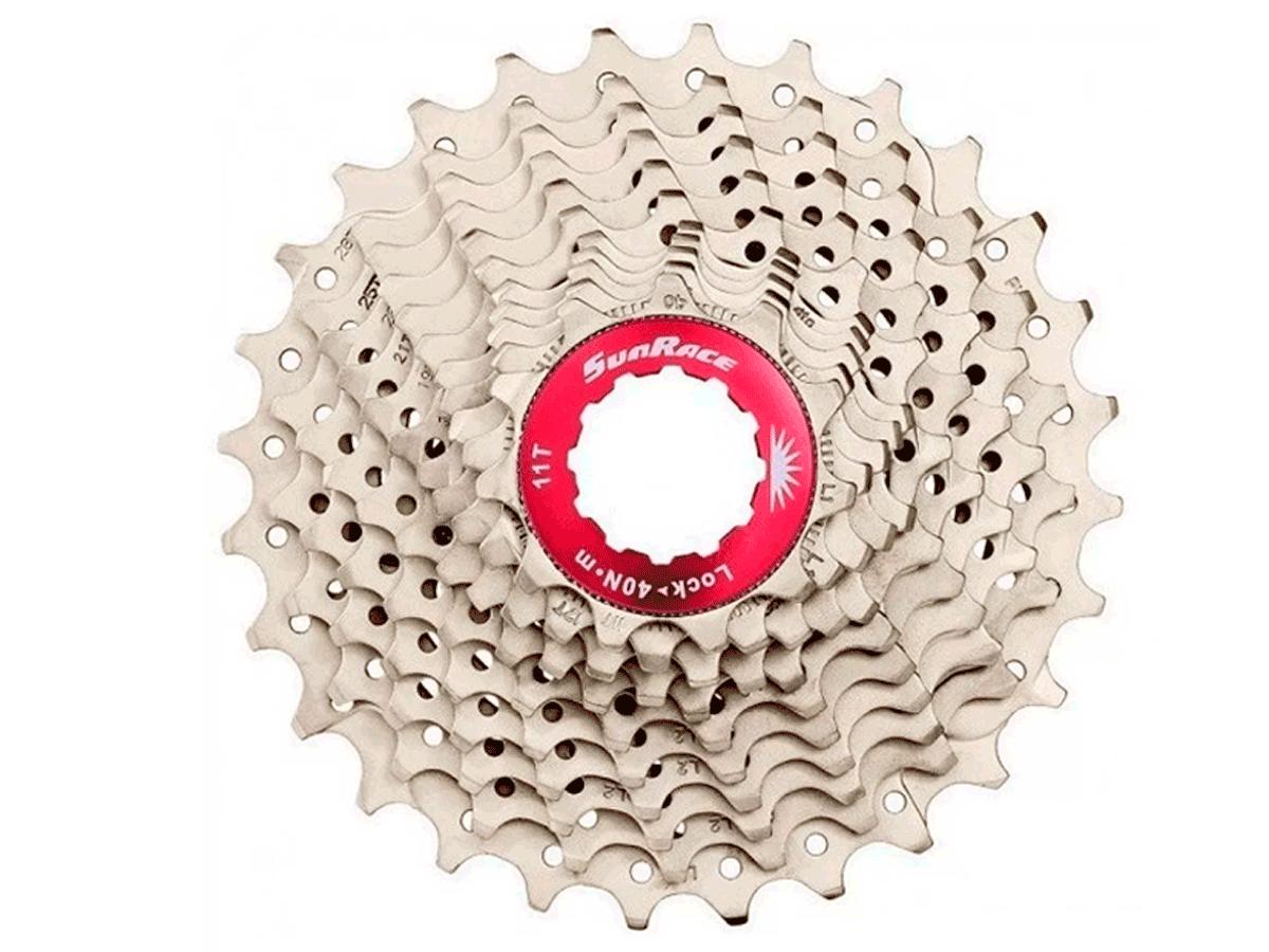 Cassete Bike Sunrace Rx1 Speed 11v 11/28 + Corrente Sunrace 11v