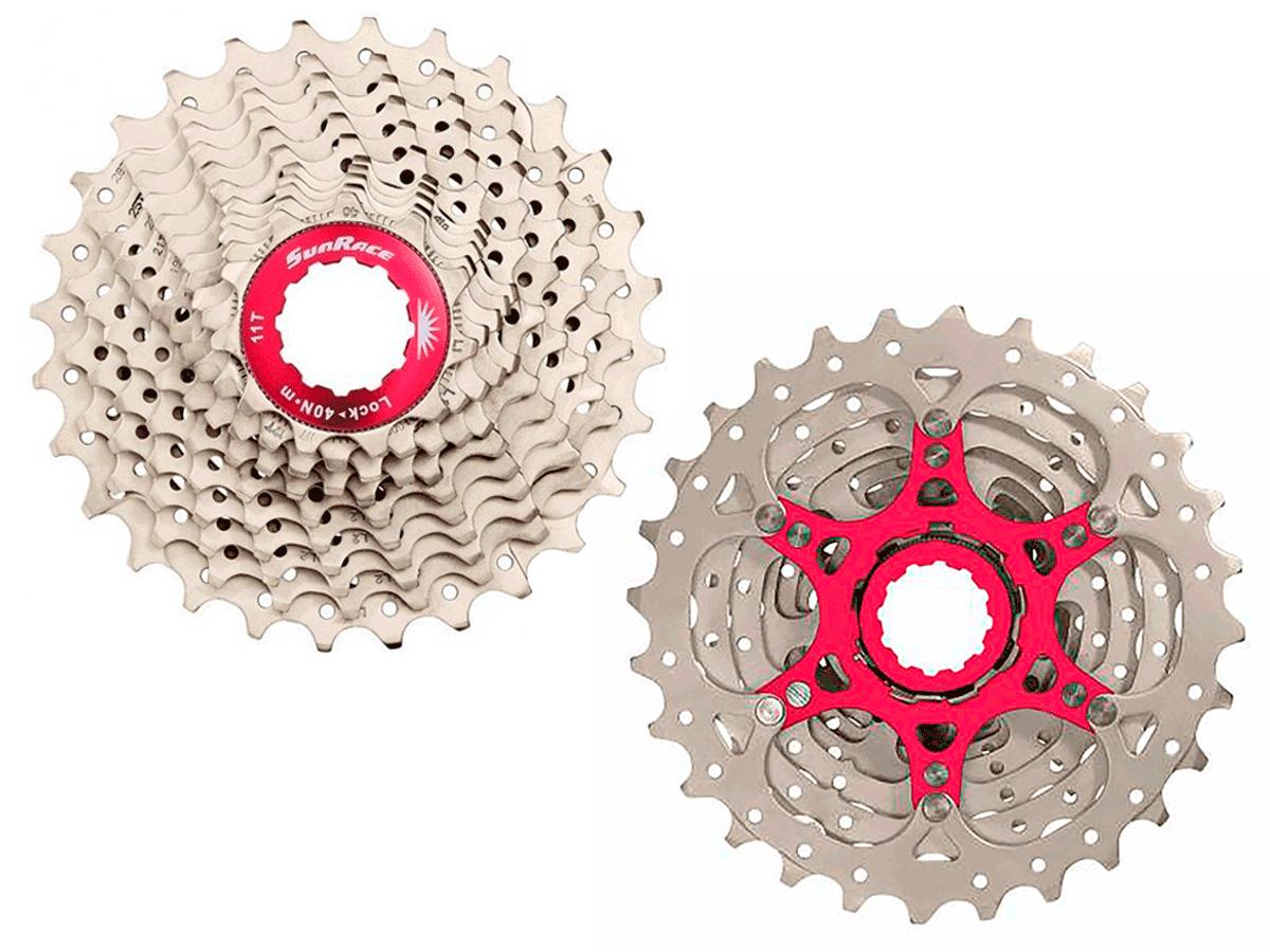 Cassete Bike Sunrace Rx Speed 10v 11/28 + Corrente Tec 10v