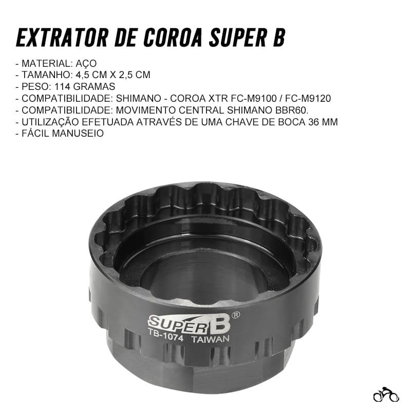 Chave Extrator de Coroa Direct Super B TB-1074