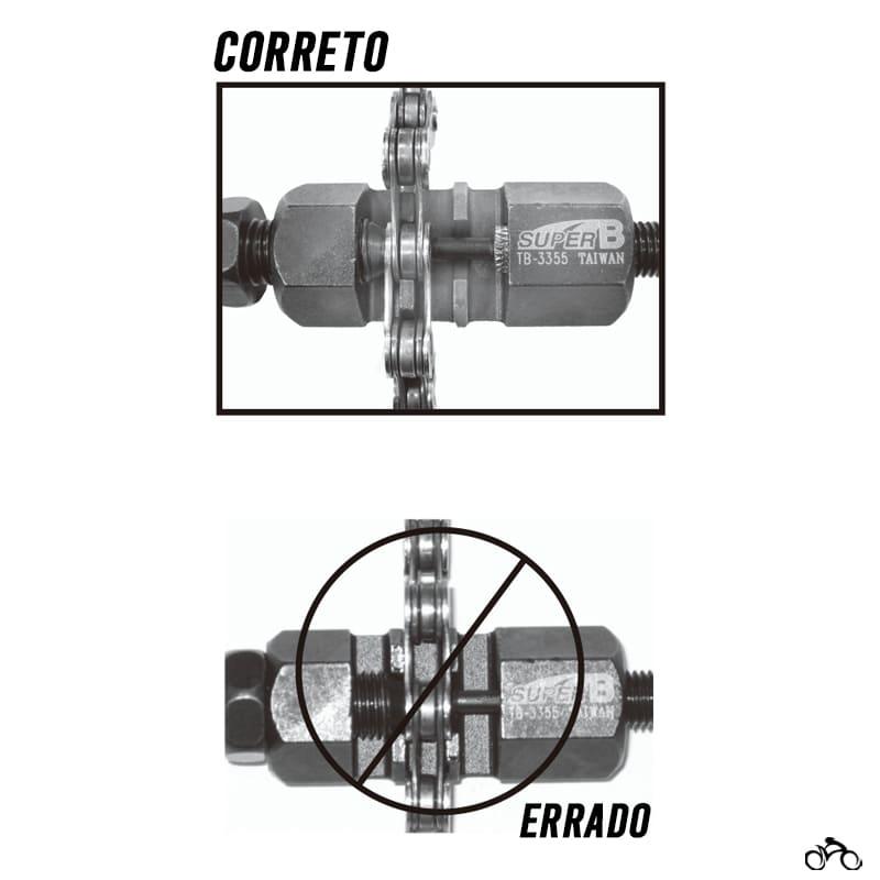 Chave Extratora de Pino de Corrente Super B Tb-3355 Mtb Speed