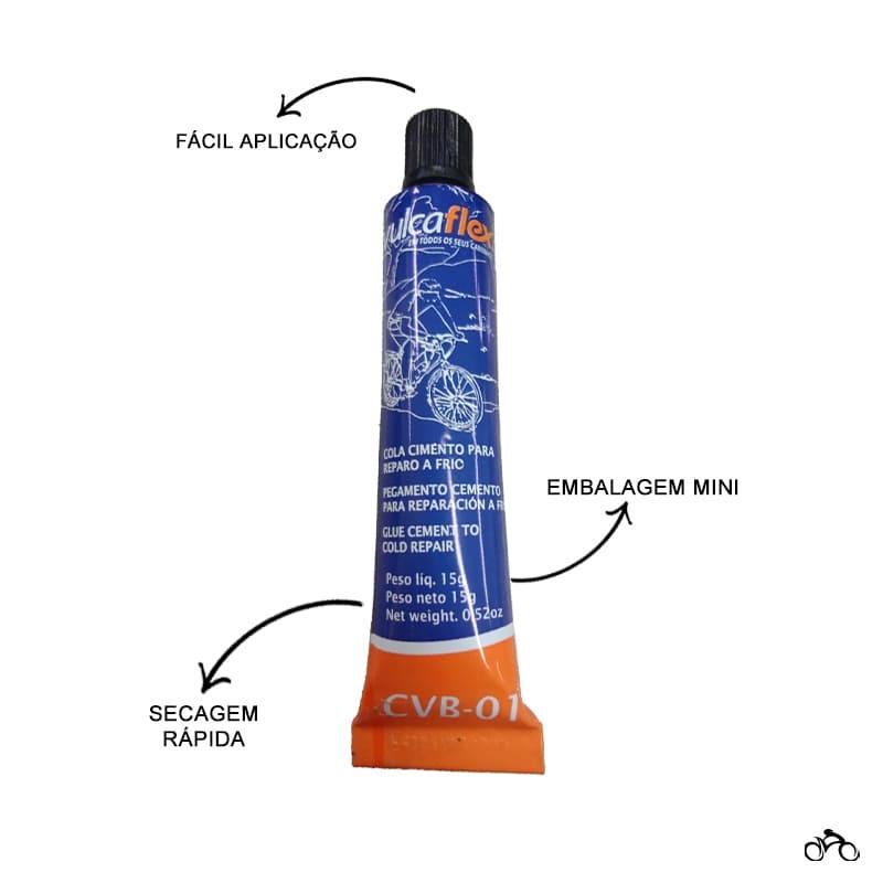 Cola Vulcanizante para Remendo Frio Vulcaflex Cvb-01 15g