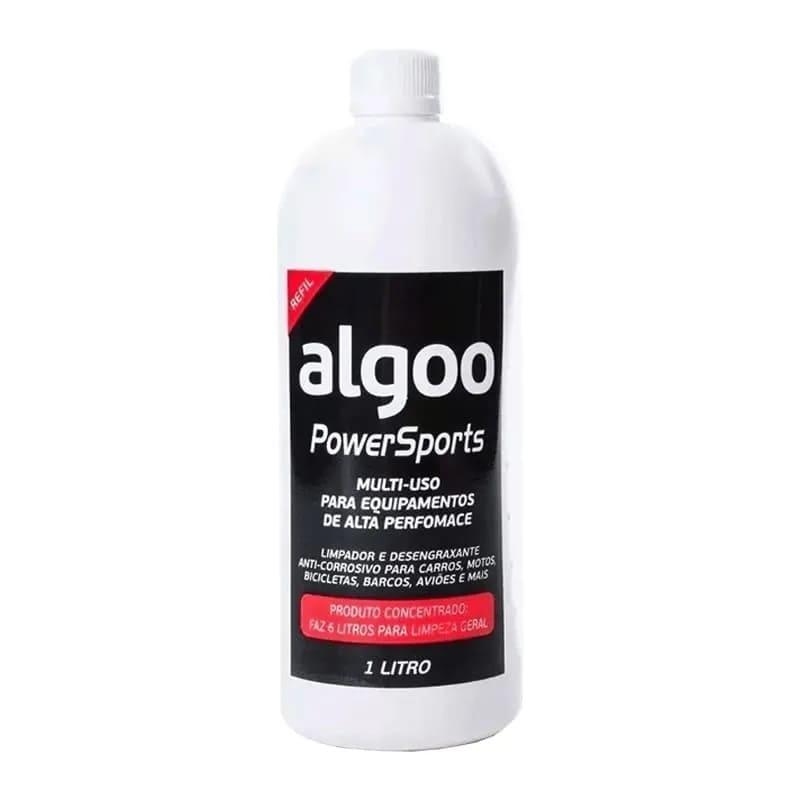 Desengraxante Bike Algoo 1L + Lava Bikes Algoo 1L + Lubrificante Algoo Cera 200ml