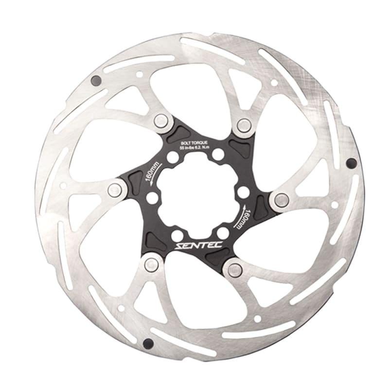 Disco de Freio Bike Sentec 160mm Rotor 6 Furos Speed