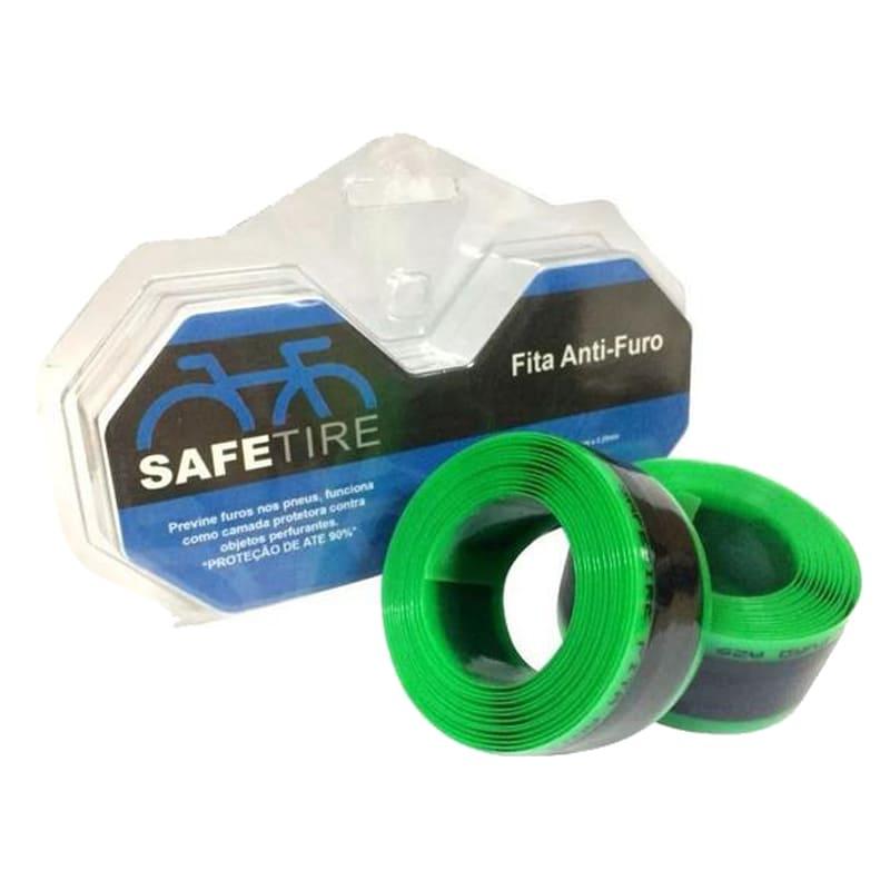 Fita Anti Furo Safetire Pneu Bike Aro 26, 27.5, 29 35mm