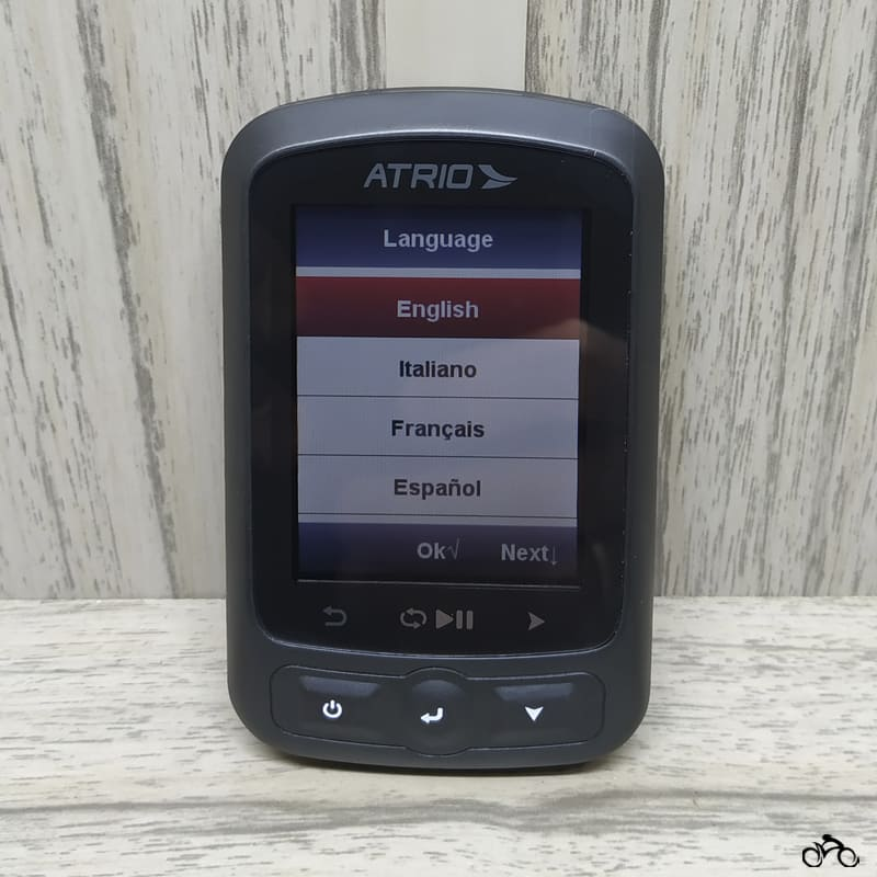 Gps para Bike Átrio Titanium Bi155 Bluetooth Mtb Speed