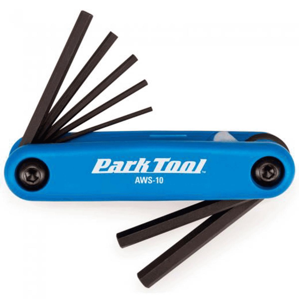 Kit Ferramentas Canivete Bike Park Tool AWS-10 7 Funções