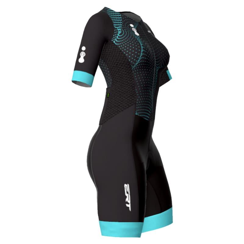 Macaquinho Ert Forro Gel Venom Feminino Ciclismo Mtb Speed