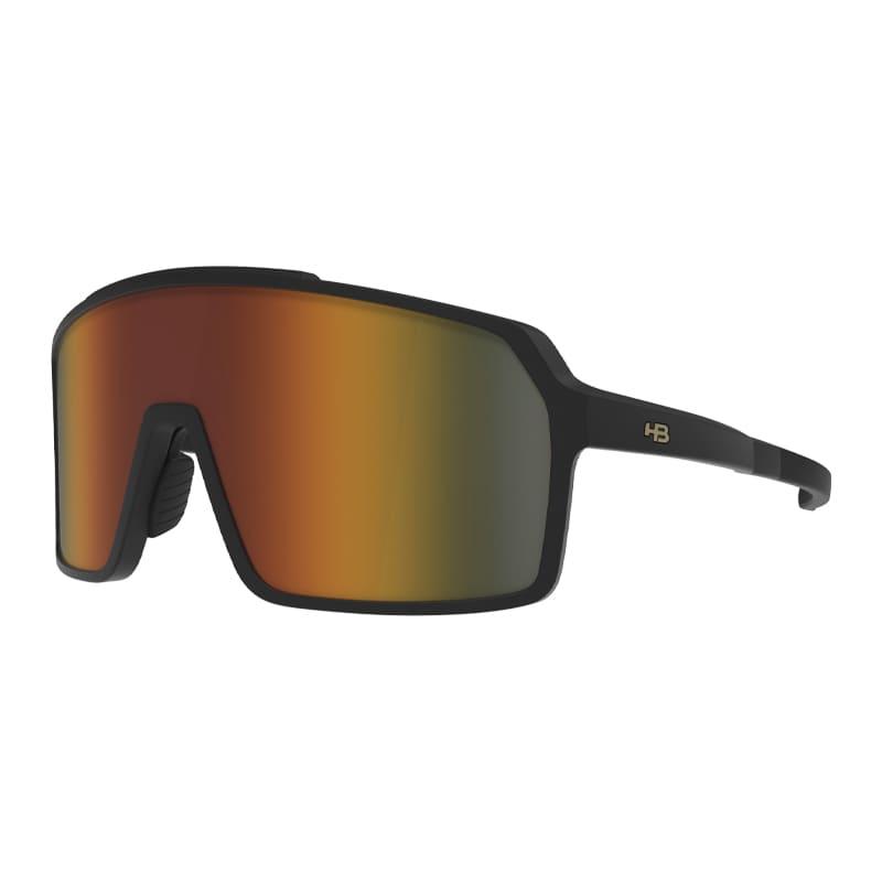 Óculos Ciclismo Hb Grinder Matte Black Orange Chrome