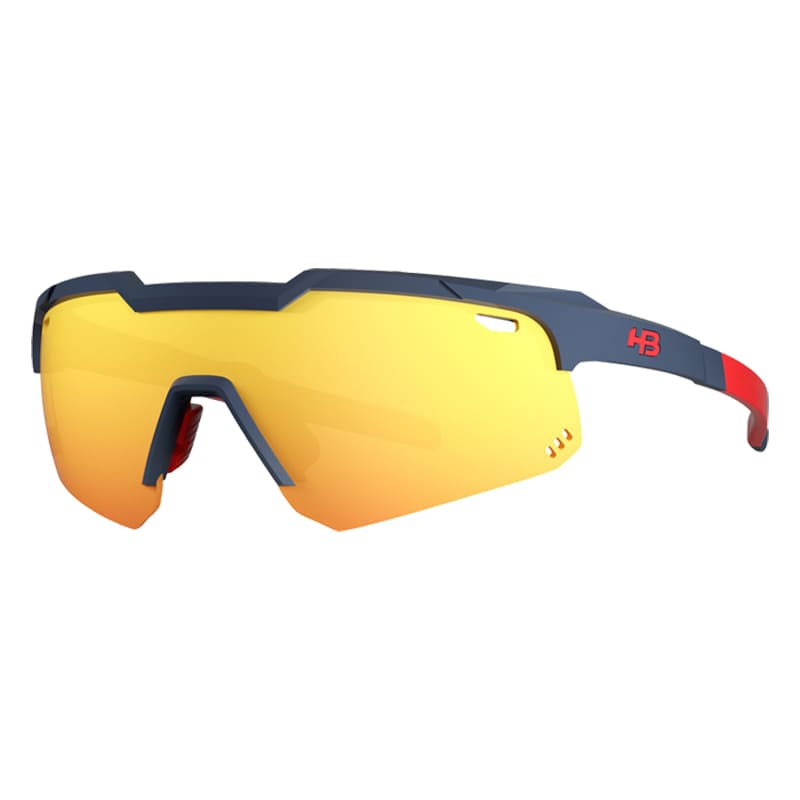 Óculos Ciclismo Hb Shield Evo Mountain Matte Navy
