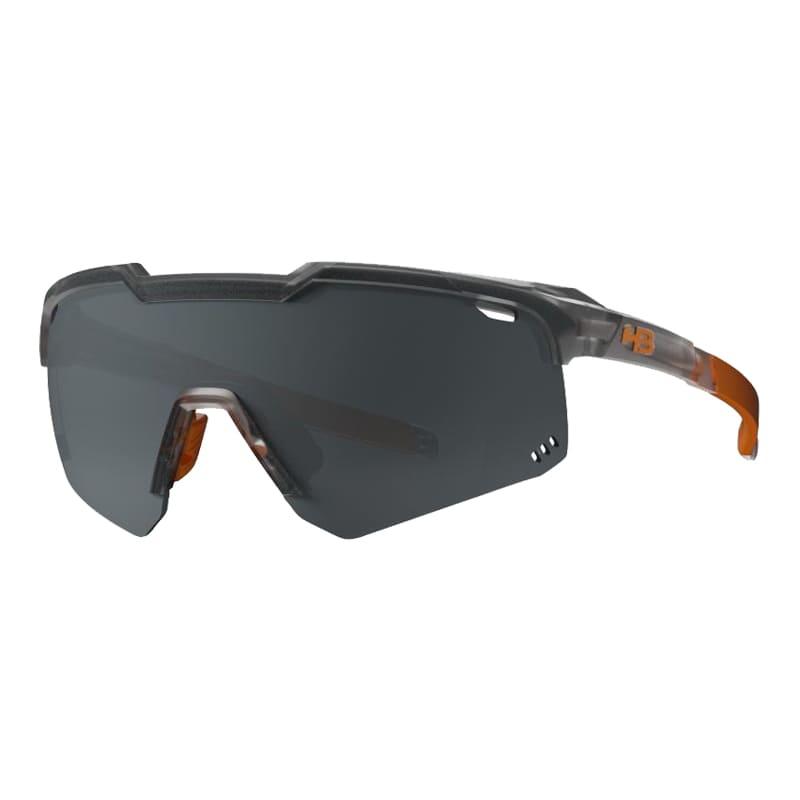 Óculos Ciclismo Hb Shield Evo Road Matte Onyx Silver
