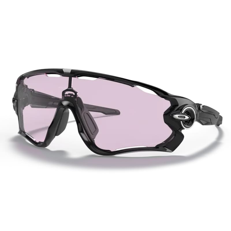 Óculos Ciclismo Oakley Jawbreaker Polished Black Prizm Low Light