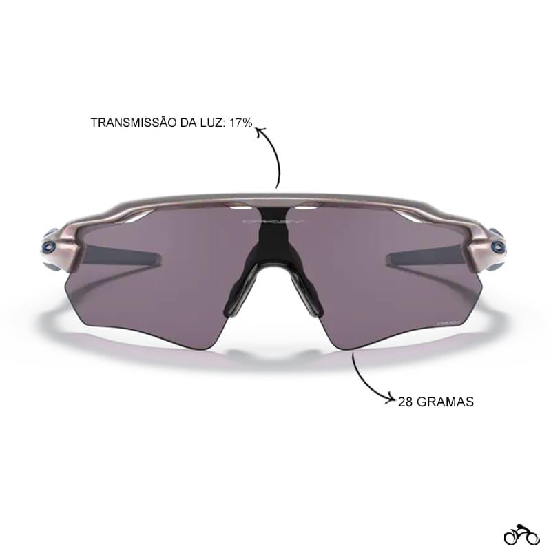 Óculos Ciclismo Oakley Radar Ev Path Odyssey Holographic  Prizm Grey