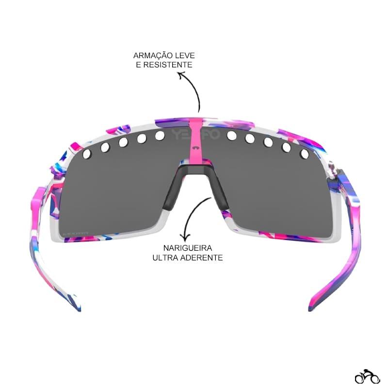 Óculos Ciclismo Oakley Sutro Collection Kokoro Prizm Black