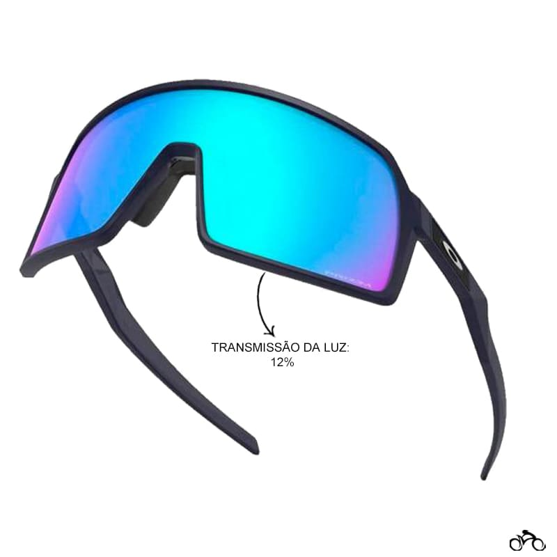 Óculos Ciclismo Oakley Sutro S Matte Navy Prizm Sapphire