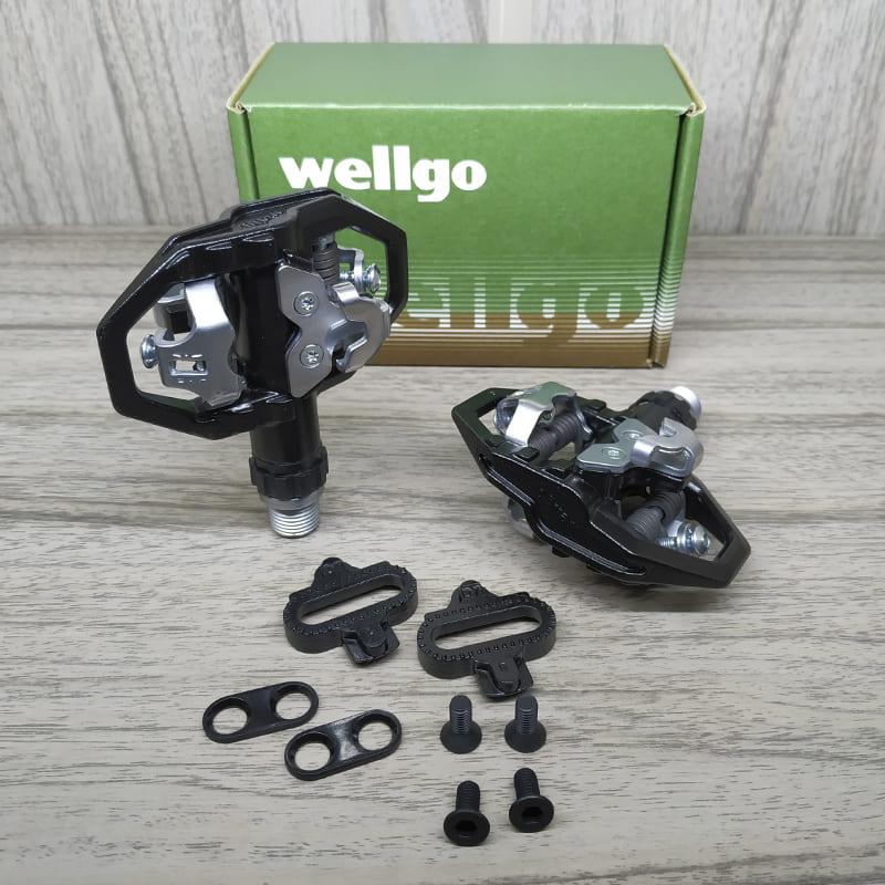 Pedal de Bicicleta Clip Plataforma Wellgo M279 Mtb