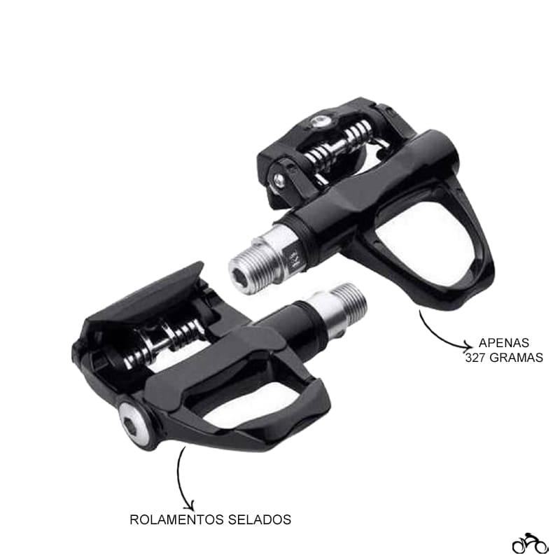 Pedal de Bicicleta Clip Wellgo R096b Speed
