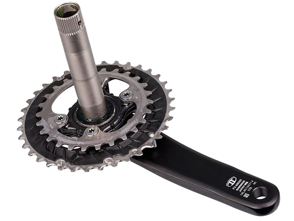 Pedivela Bike Shimano Deore Xt M8000 Hollowtech 175mm 36T-26T 2X11