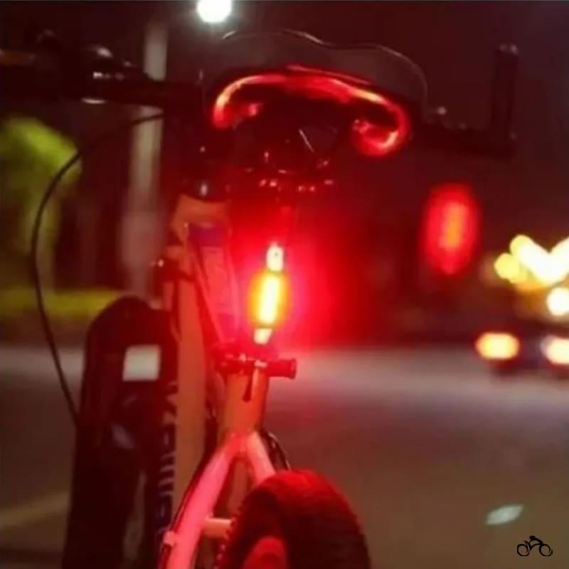 Pisca Traseiro para Bike Tsw 15 Lúmens