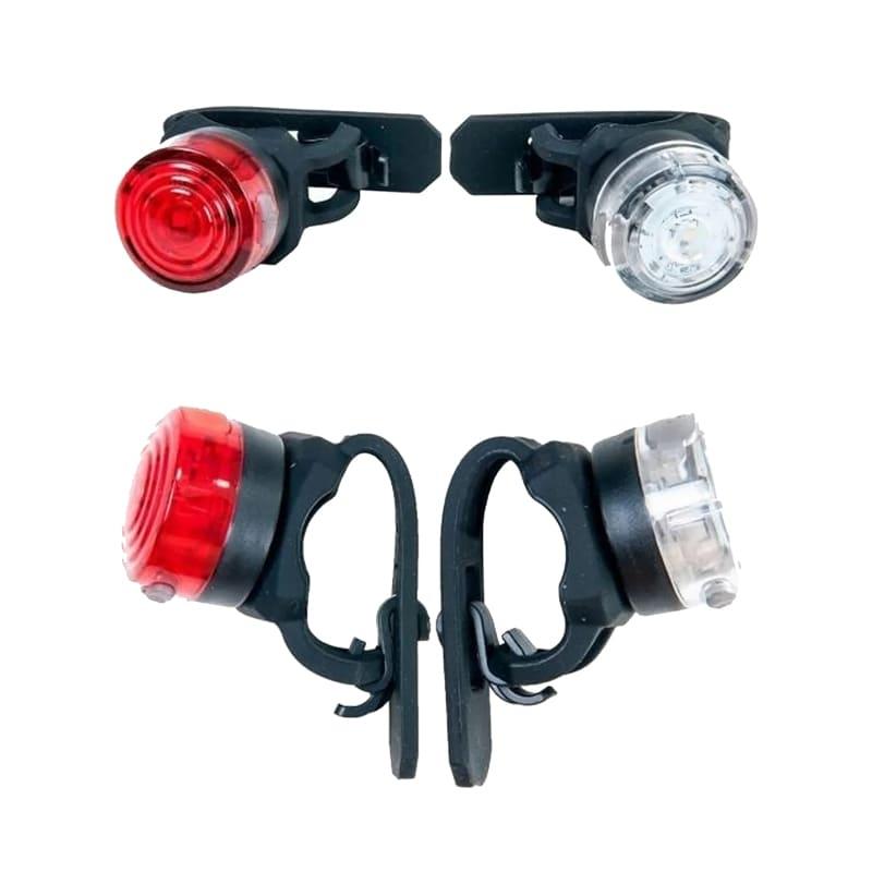 Piscas Traseiro e Dianteiro para Bike Absolute JY-6003U Usb Led