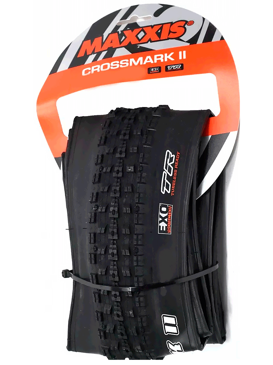 Pneu de Bicicleta Maxxis Crossmark II EXO 29 x 2.25 Mtb Kevlar