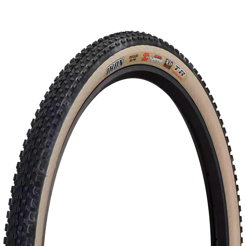 Pneu de Bicicleta Maxxis Ikon 3C EXO Skinwall Faixa Bege 29 x 2.20 Mtb Kevlar