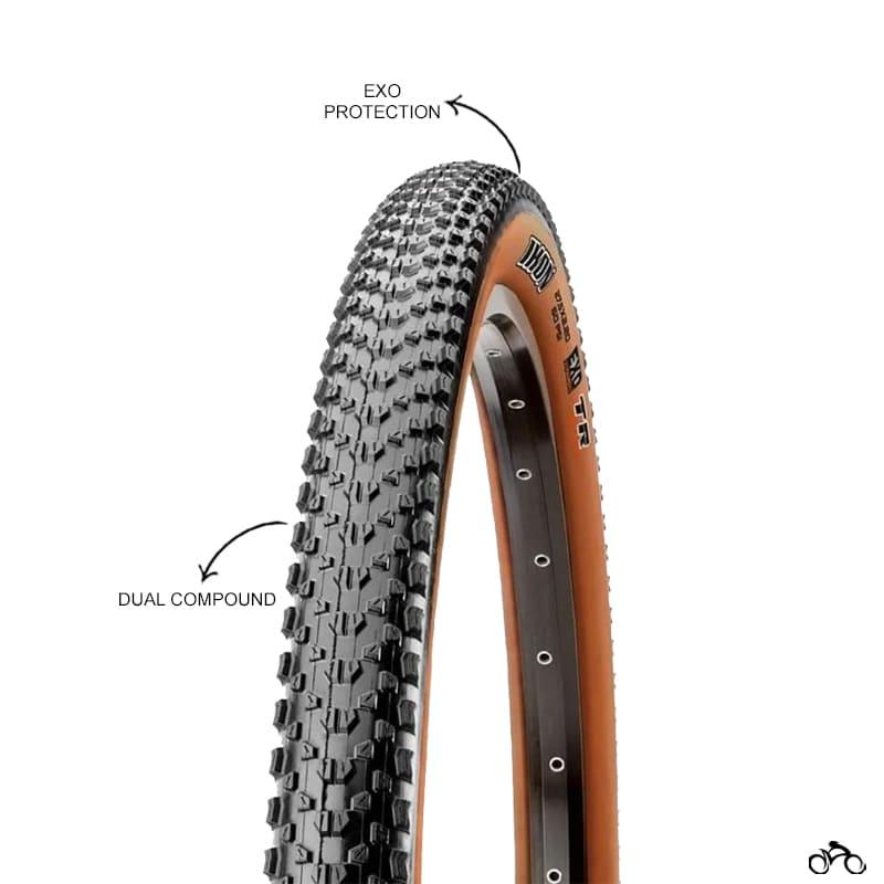 Pneu de Bicicleta Maxxis Ikon EXO Skinwall Faixa Marrom 29 x 2.20 Mtb Kevlar