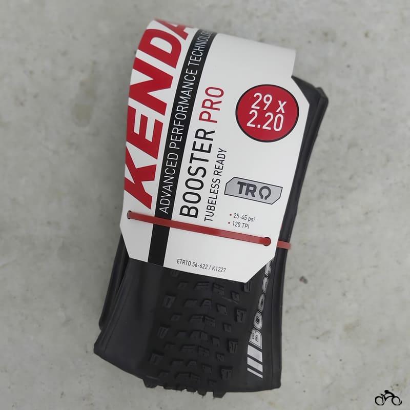 Pneus de Bicicleta Kenda Booster Pro 29 x 2.20 Mtb Kevlar Par