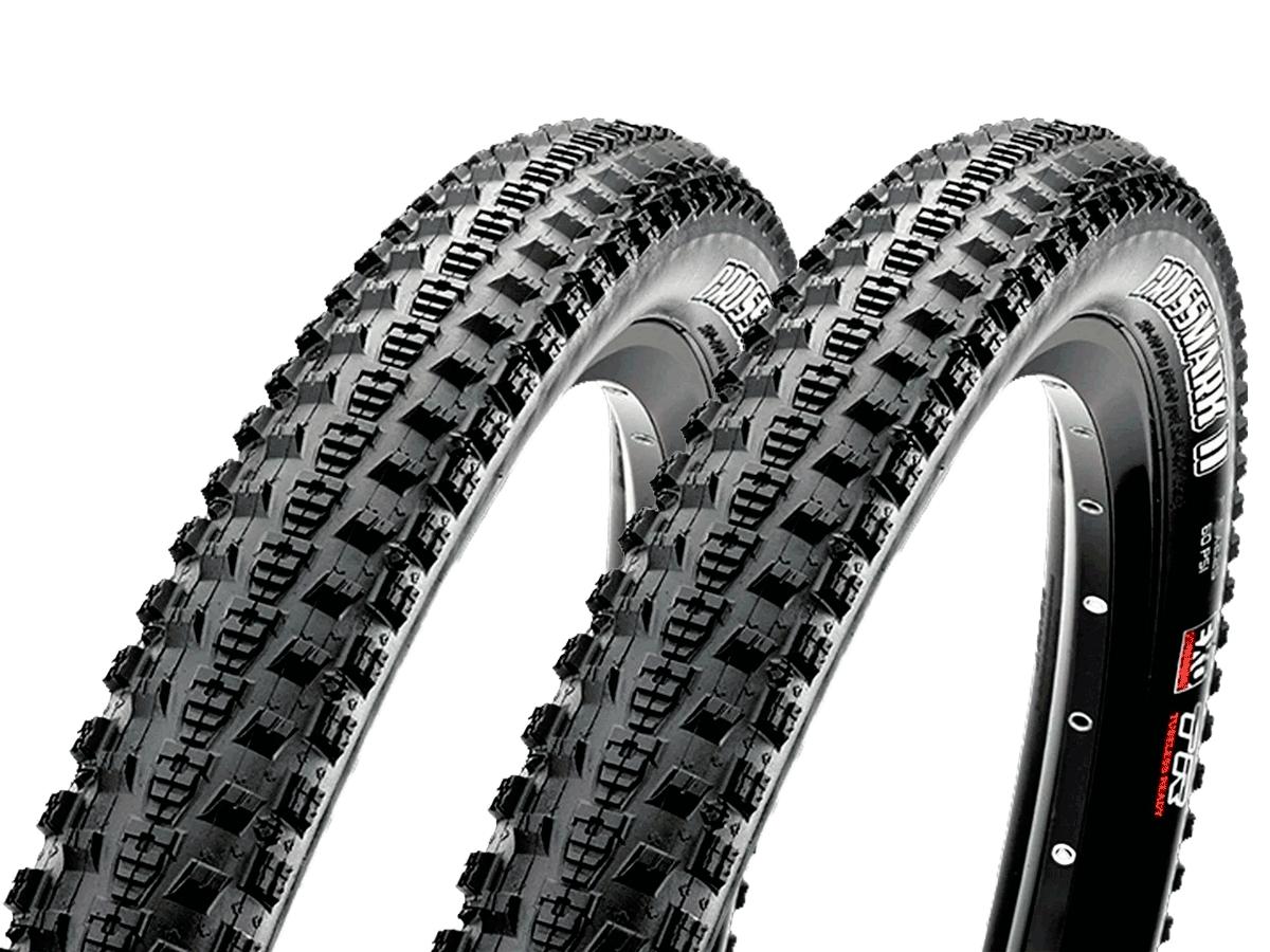 Pneus de Bicicleta Maxxis Crossmark II EXO 29 x 2.25 Mtb Kevlar Par