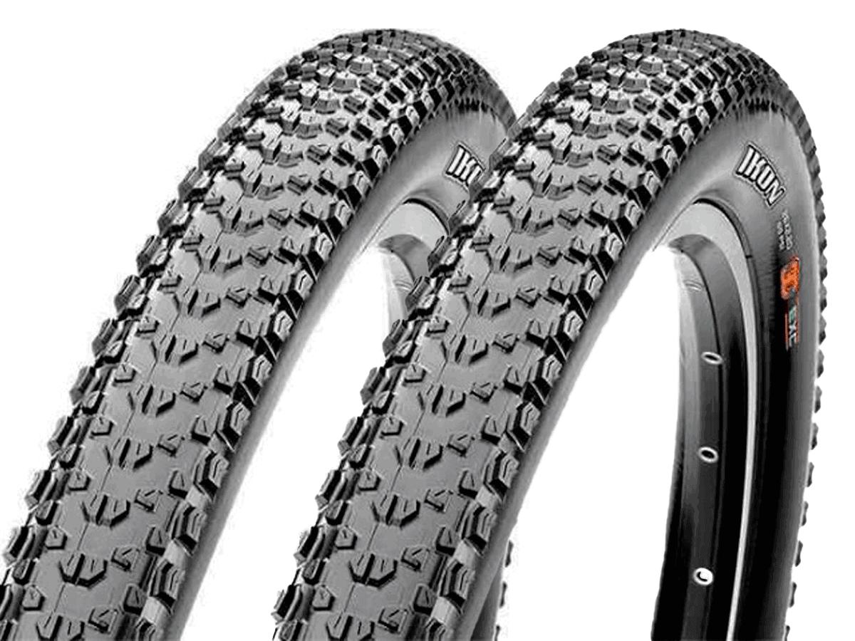 Pneus de Bicicleta Maxxis Ikon 3C EXO 29 x 2.20 Mtb Kevlar Par