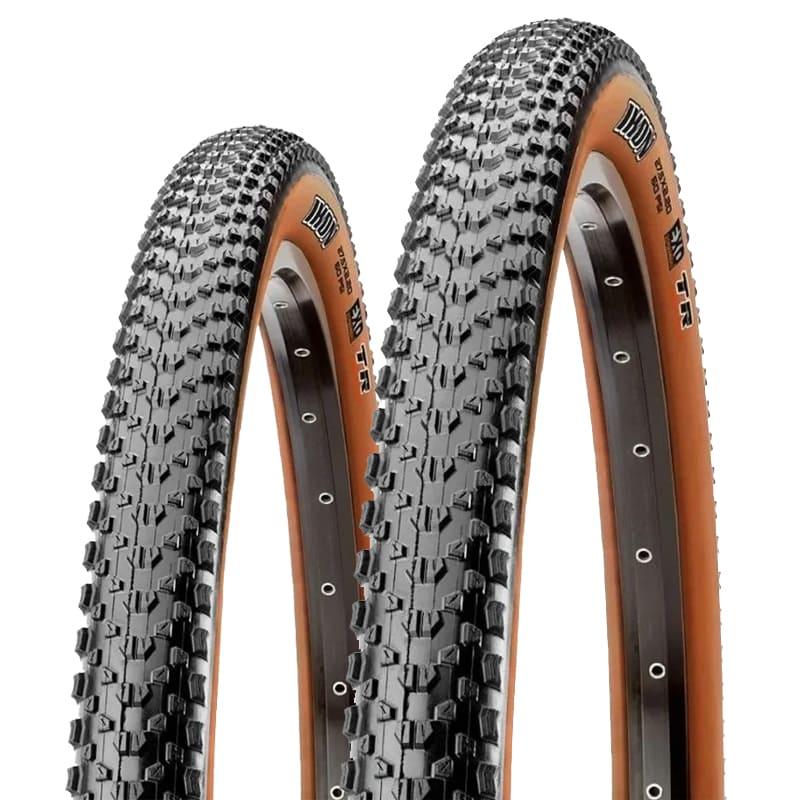 Pneus de Bicicleta Maxxis Ikon 3C EXO Skinwall Faixa Marrom 29 x 2.20 Mtb Kevlar Par