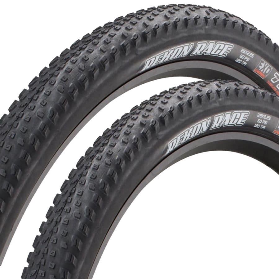 Pneus de Bicicleta Maxxis Rekon Race EXO 29 x 2.25 Mtb Kevlar Par