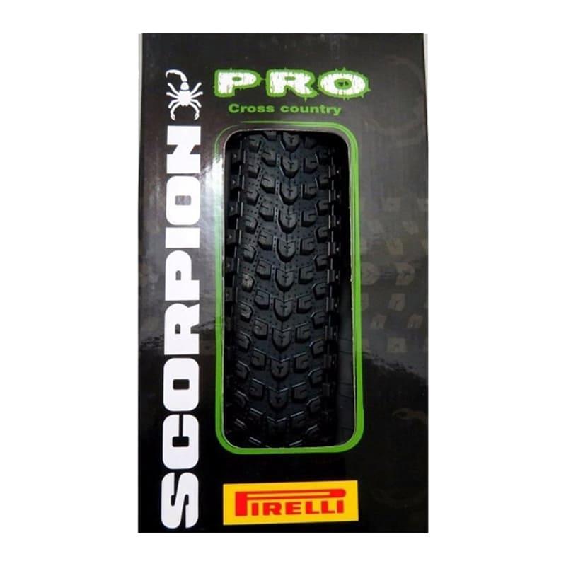 Pneus de Bicicleta Pirelli Scorpion Pro 29 x 2.20 Mtb Kevlar + Câmara Pirelli Americana Par