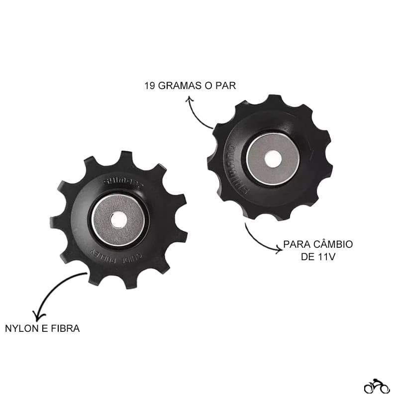 Roldana de Câmbio Bicicleta Shimano Slx Metrea 11v