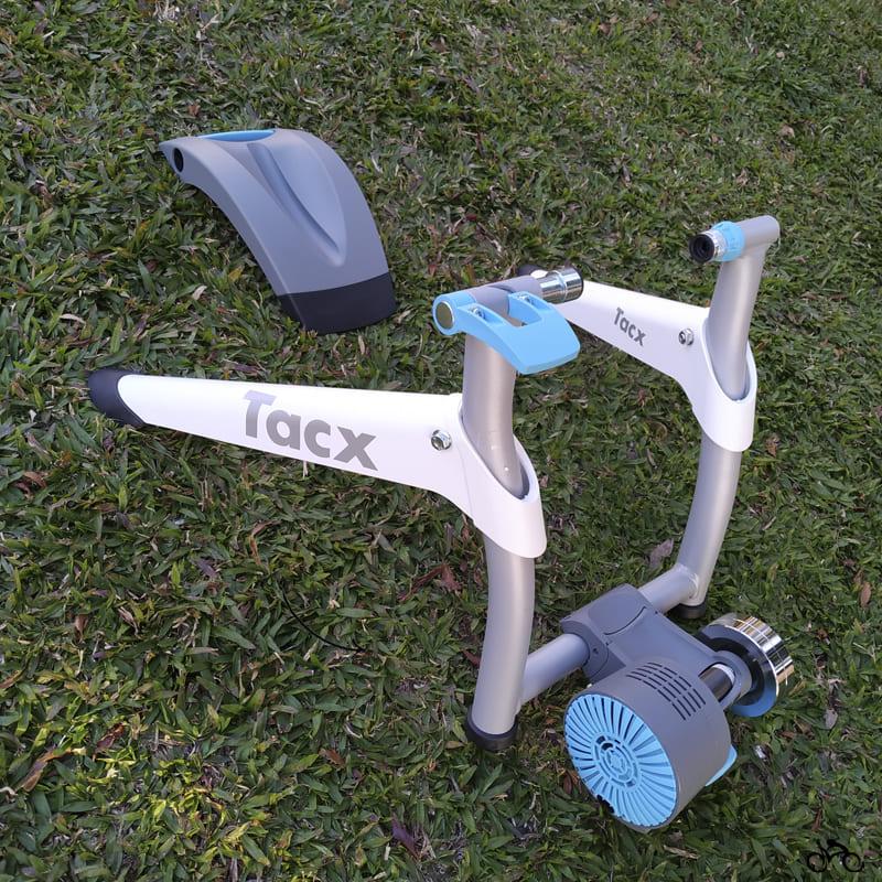 Rolo de Treino Bike Tacx Flow Smart Interativo com Regulagem Mtb Speed